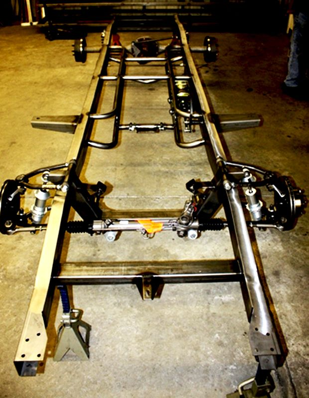 53-56 Ford Chassis - Hotshoe Hot Rods | 417-466-0288 | Street Rod ...